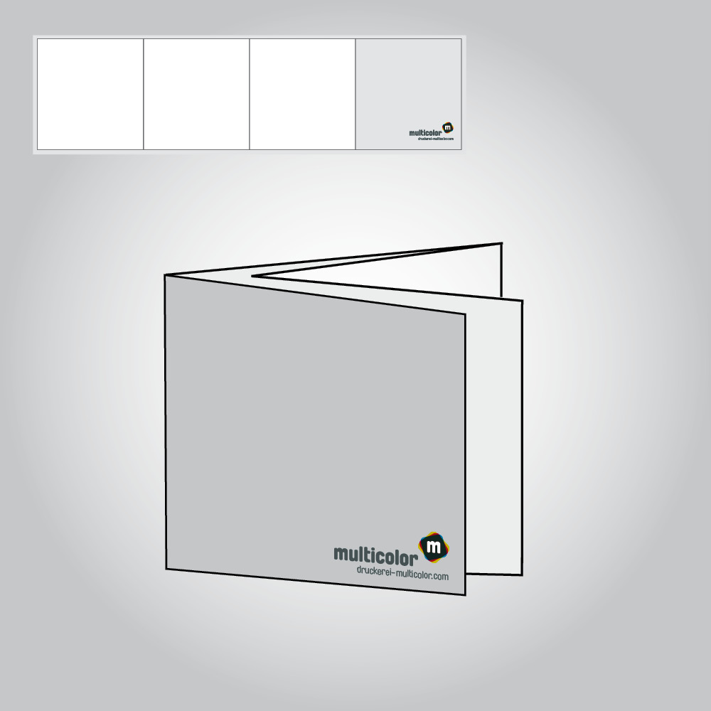 Folder, Quadrat 120, 250g BD matt