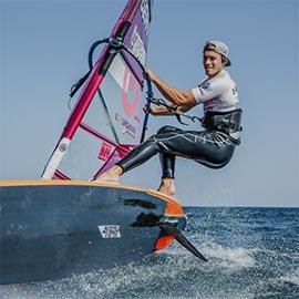 Nico Prien (aktuell Deutscher Meister im Windsurfen)
